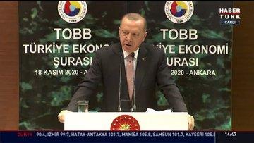 Cumhurbaşkanı Erdoğan: Yüksek faize yatırımcımızı ezdirmemeliyiz