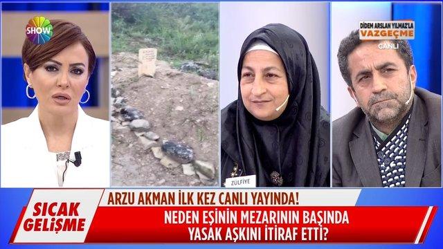 Arzu Akman ilk kez canlı yayında!