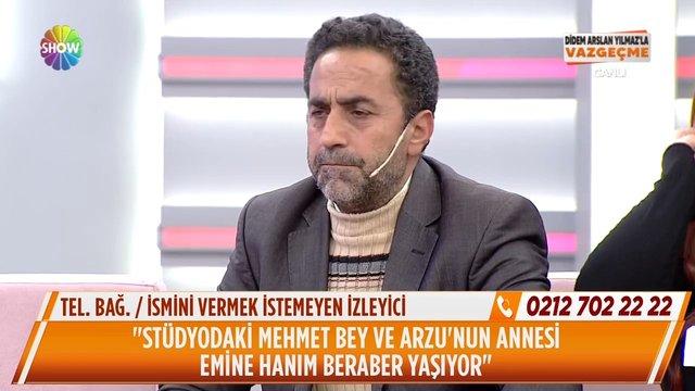 Mehmet Bey ve Arzu'nun annesi arasında bir ilişki var mı?