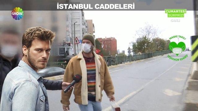İstanbul caddeleri!