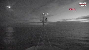 Avusturalya'da meteorun düşme anı kamerada