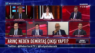 Enine Boyuna - 20 Kasım 2020 (Bülent Arınç, neden Selahattin Demirtaş çıkışı yaptı?)