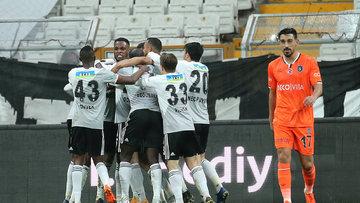 Beşiktaş, Başakşehir'i 3 golle geçti
