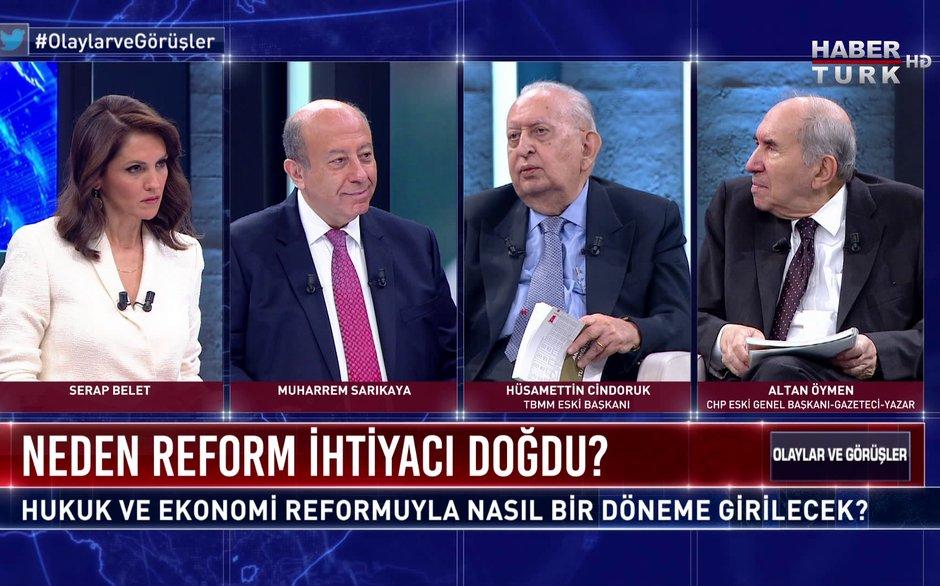 Olaylar ve Görüşler - 21 Kasım 2020 (Dünden bugüne Türkiye siyasetinde kutuplaşma ve reformlar...)