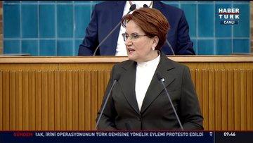 İYİ Parti lideri Meral Akşener partisinin grup toplantısında konuştu