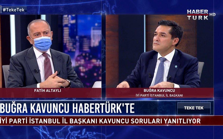 Teke Tek - 23 Kasım 2020 (İYİ Parti İstanbul İl Başkanı Buğra Kavuncu, Ümit Özdağ'ın FETÖ iddialarına ne diyor?)
