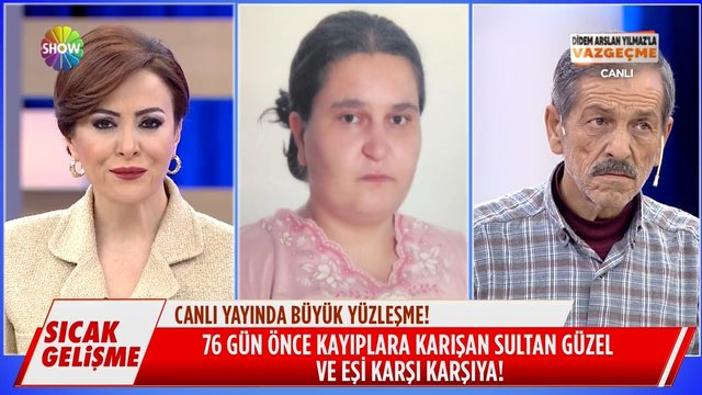 Mehmet Bey, evden kaçan 21 yaş küçük eşi ile karşı karşıya!