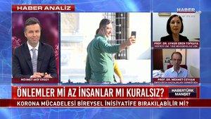 Habertürk Manşet - 24 Kasım 2020 (Korona mücadelesi bireysel inisiyatife bırakılabilir mi?)