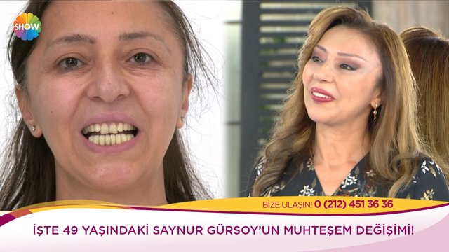 Saynur Hanım'ın değişim serüveni