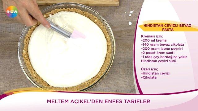 Hindistan Cevizli Beyaz Pasta