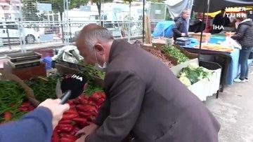 Maske takmayan pazarcının savunması pes dedirtti: Müslüman adam ölümden korkmaz