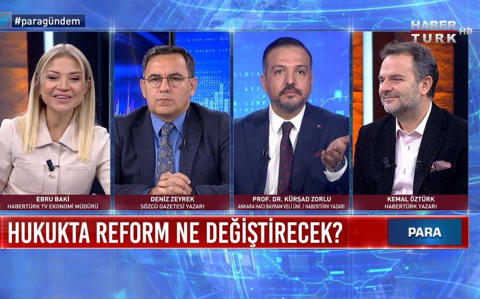 Para Gündem – 27 Kasım 2020 (Hukukta reform ne değiştirecek?)