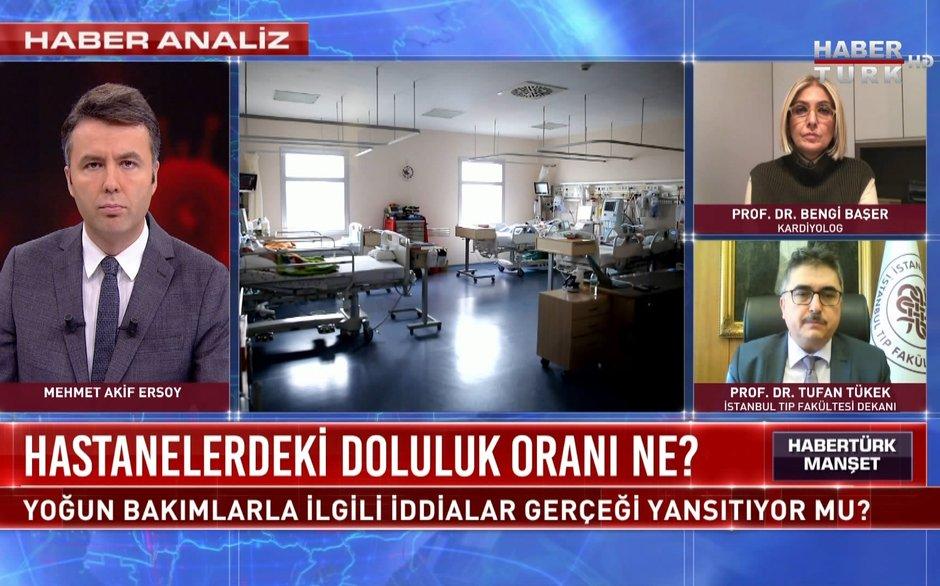 Habertürk Manşet - 27 Kasım 2020 (Yoğun bakımlarla ilgili iddialar gerçeği yansıtıyor mu?)