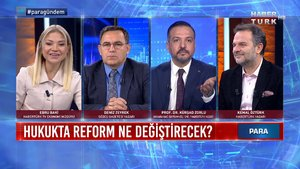 Para Gündem - 27 Kasım 2020 (Hukukta reform ne değiştirecek?)