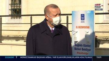 Son dakika haberi Cumhurbaşkanı Erdoğan'dan koronavirüs tedbiri açıklaması!