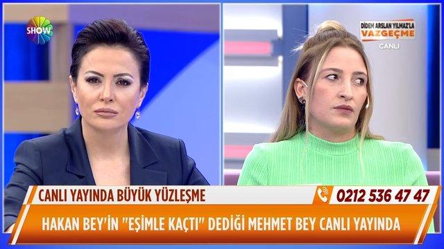 Hakan Bey ve Mehmet Bey karşı karşıya!