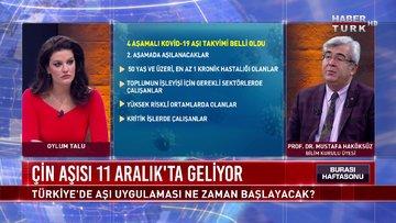 Burası Haftasonu - 6 Aralık 2020 (Türkiye'de aşı uygulaması ne zaman başlayacak?)