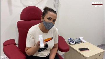 Sevilay Yılman aşı gönüllüsü oldu