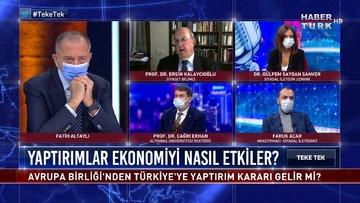 Teke Tek – 8 Aralık 2020 (Avrupa Birliği'nden Türkiye'ye yaptırım kararı gelir mi?)