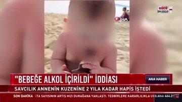 """""""Bebeğe alkol içirildi"""" iddiası..."""