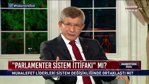Habertürk Özel - 12 Aralık 2020 (Ahmet Davutoğlu muhalefet liderleriyle hangi konularda anlaştı?)