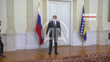 Bosna Hersekli liderler Dzaferovic ile Komsic, Rus Bakan Lavrov ile görüşmeyi reddetti