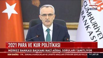 Merkez Bankası Başkanı Ağbal'dan önemli açıklamalar