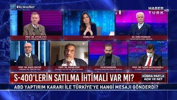 Açık ve Net - 15 Aralık 2020 (ABD yaptırım kararı ile Türkiye'ye hangi mesajı gönderdi?)