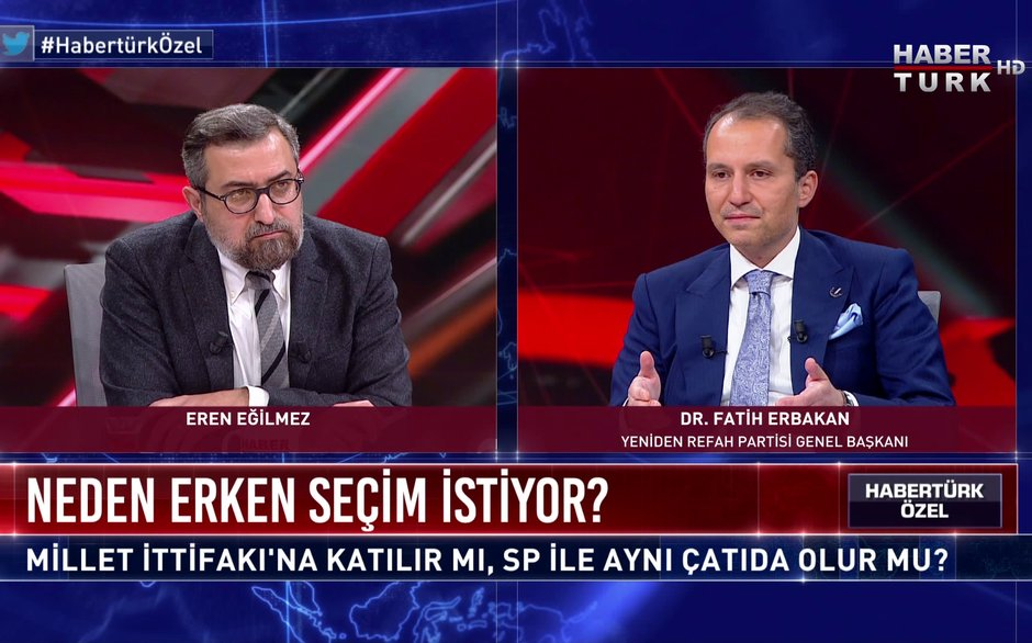 Habertürk Özel - 19 Aralık 2020 (Dr. Fatih Erbakan neden erken seçim istiyor?)