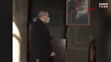 Kilise papazı Ermenistan Başbakanı Paşinyan'ı kiliseden kovdu
