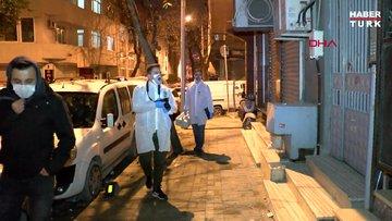 Gaziosmanpaşa'da evin kapısındaki tartışma cinayetle bitti