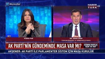Açık ve Net - 21 Aralık 2020 (AK Parti'nin gündeminde masa var mı?)