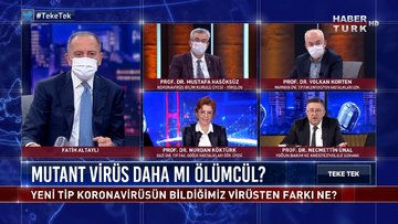 Teke Tek - 22 Aralık 2020 (Yeni tip koronavirüsün bilmediğimiz virüsten farkı ne?)