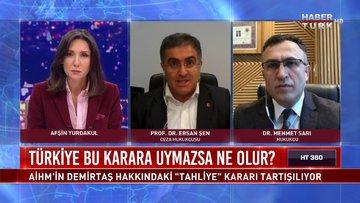 HT 360 - 23 Aralık 2020 (Türkiye, AİHM kararına uymazsa ne olur?)