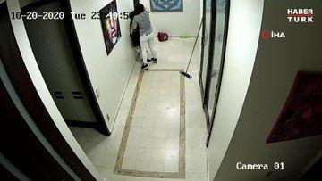 Diş asistanı kadından meslektaşına öldüresiye dayak kamerada