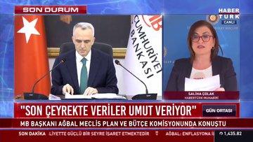 TCMB Başkanı Ağbal: TCMB enflasyon hedeflemesi rejimini kararlı bir şekilde uygulayacak