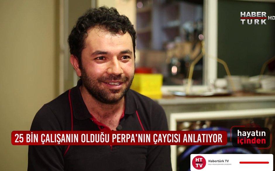 Hayatın İçinden - 27 Aralık 2020 (Perpa'nın 16 yıllık çaycısı Serkan Şeftalioğlu anlatıyor)