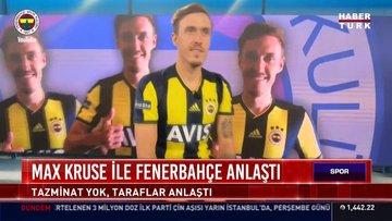 Son dakika haberi Fenerbahçe Kulübü ile Max Kruse tazminat konusunda anlaştı