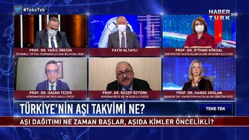 Teke Tek - 28 Aralık 2020 (Türkiye'de aşı dağıtımı ne zaman başlar, kimler öncelikli?)