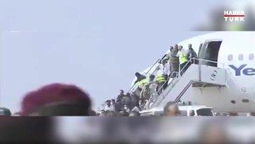 Yemen'de kabine üyelerinin indiği havalimanında patlama!