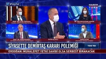 Teke Tek - 29 Aralık 2020 (HDP kapatılabilir mi, partiye hazine yardımı kesilir mi?)