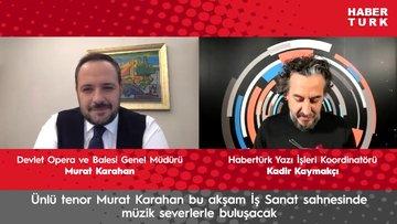 Murat Karahan'ın yeni yıl konseri İş Sanat'ta
