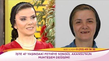 Fethiye Songül Akansu'nun büyük değişimi!