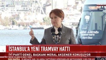 Akşener'den çağrı: İstanbul'da sokak lambaları sönmesin