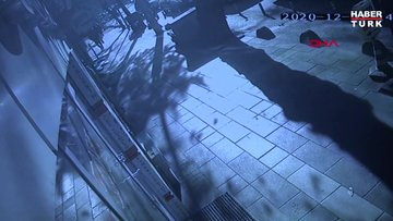 Büşra'nın yorgun mermiyle yaralandığı an kamerada