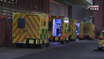 İngiltere'de koronavirüs paniği: Hastaneler doldu, koronavirüs vakalarında rekor artış!