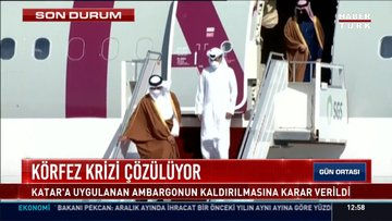 Katar Emiri Suudi Arabistan'da
