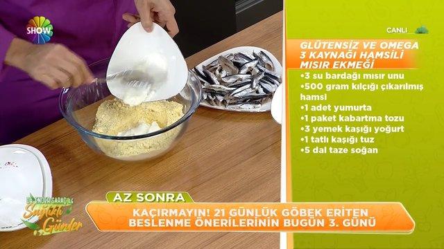 Hamsili Ekmek tarifi ve hamsinin faydaları