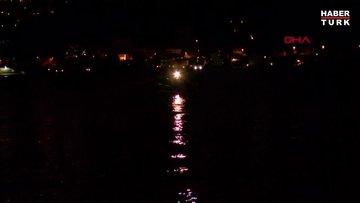Beşiktaş'ta denize atlayan kişi kayboldu
