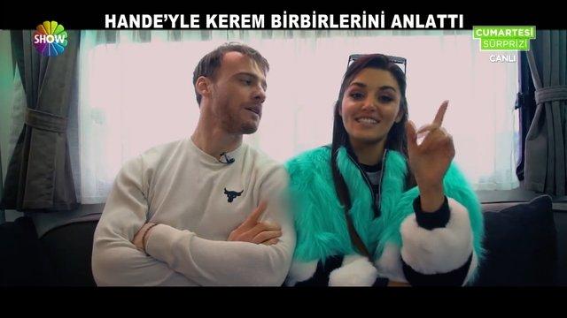 Hande'yle Kerem birbirlerini anlattı!